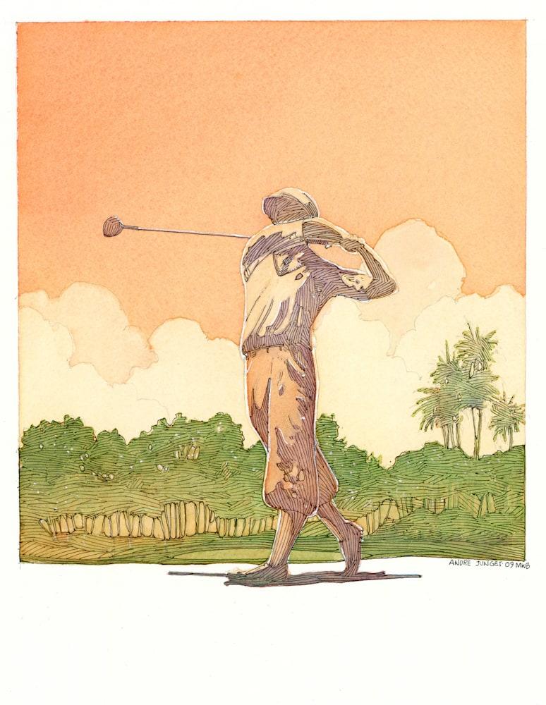 Golfer Honda Golf Classic