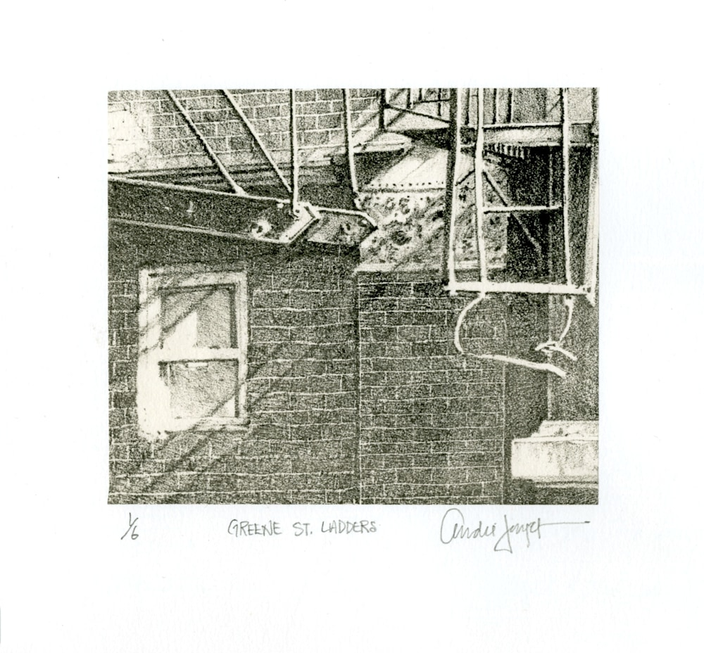 Greene Street Ladders Chine Cole'