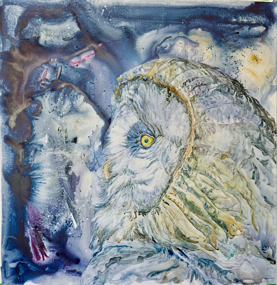 Grey Owl Man
