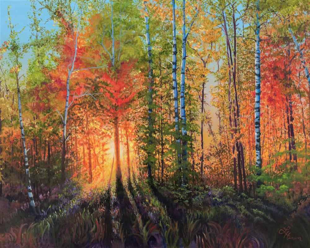 Blazing Fall Sunset