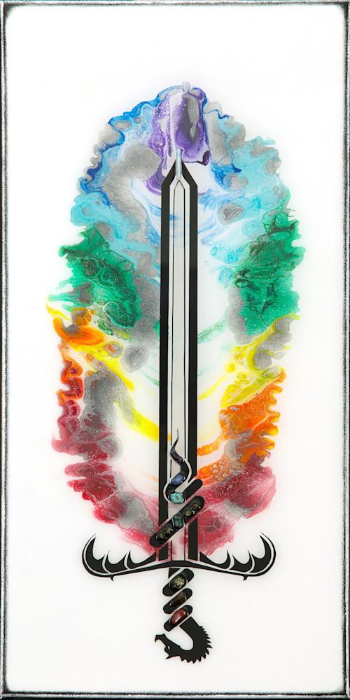 AM21P 036 Chakra Sword