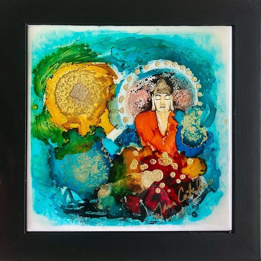 Sunshine Buddha   sold