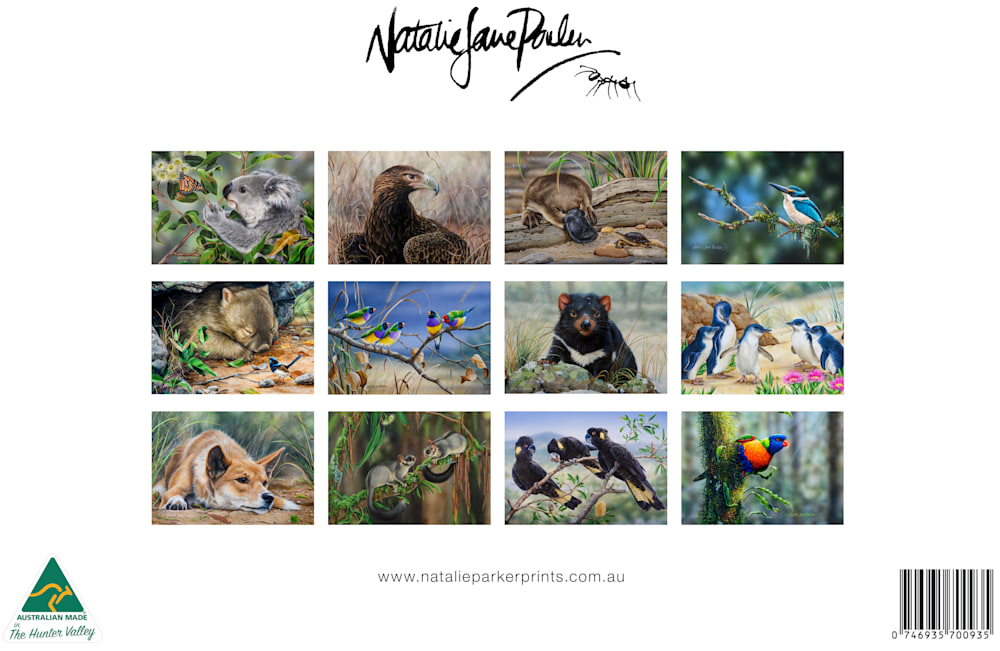 NJP 2022 Australian Wildlife calendar Proof 26