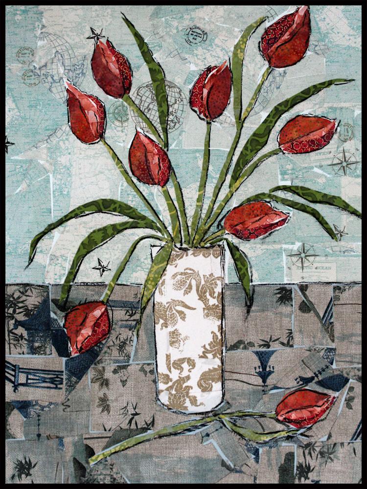 Tulips (2) Framed