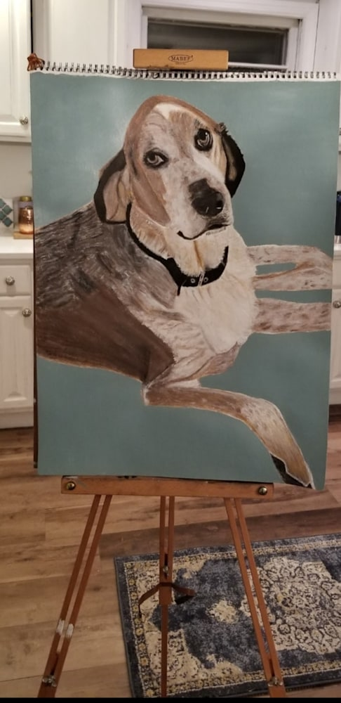 Riley painting