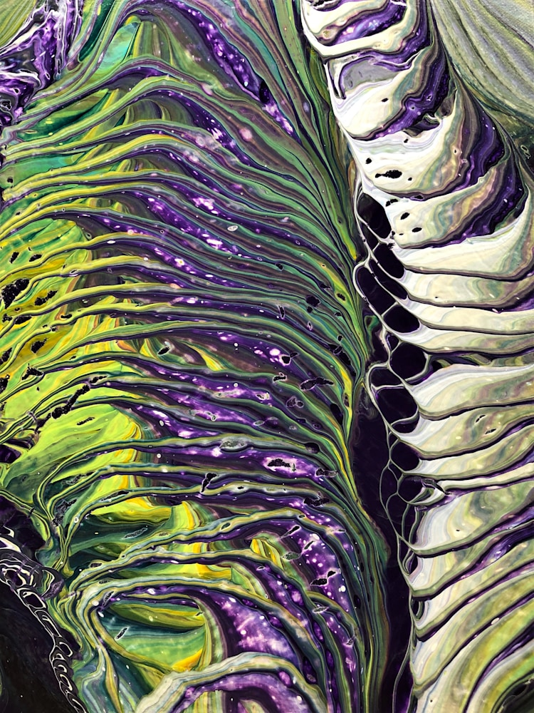 Kim Kort   Snake Skin 11x14