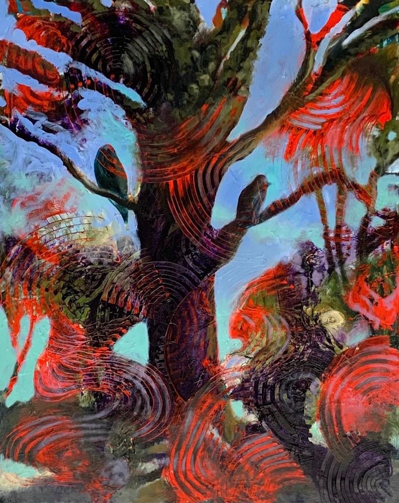 Birds in Tree XI copy 2