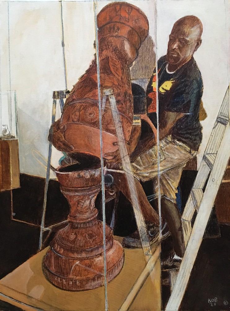 KObrienMoving the Restoration of the Ohr Urn18x24$1600acryprisminkoncanvas2021