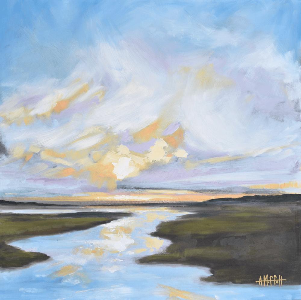 Lowcountry Daybreak  original oil painting