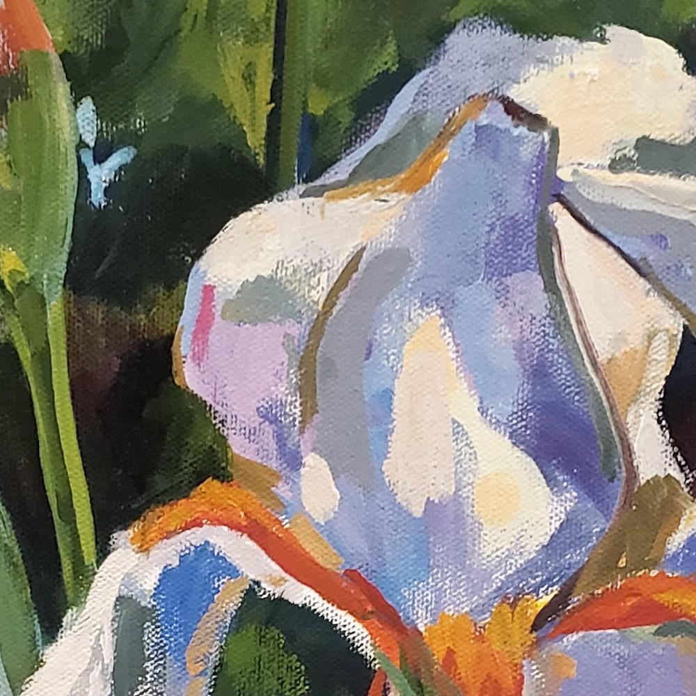 Hallgren Iris on Spring Ga Detail1