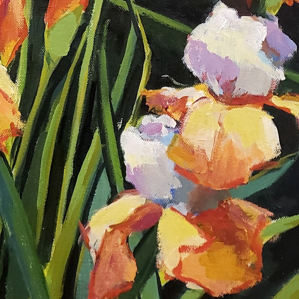 Jenn Hallgren Iris Garden detail2