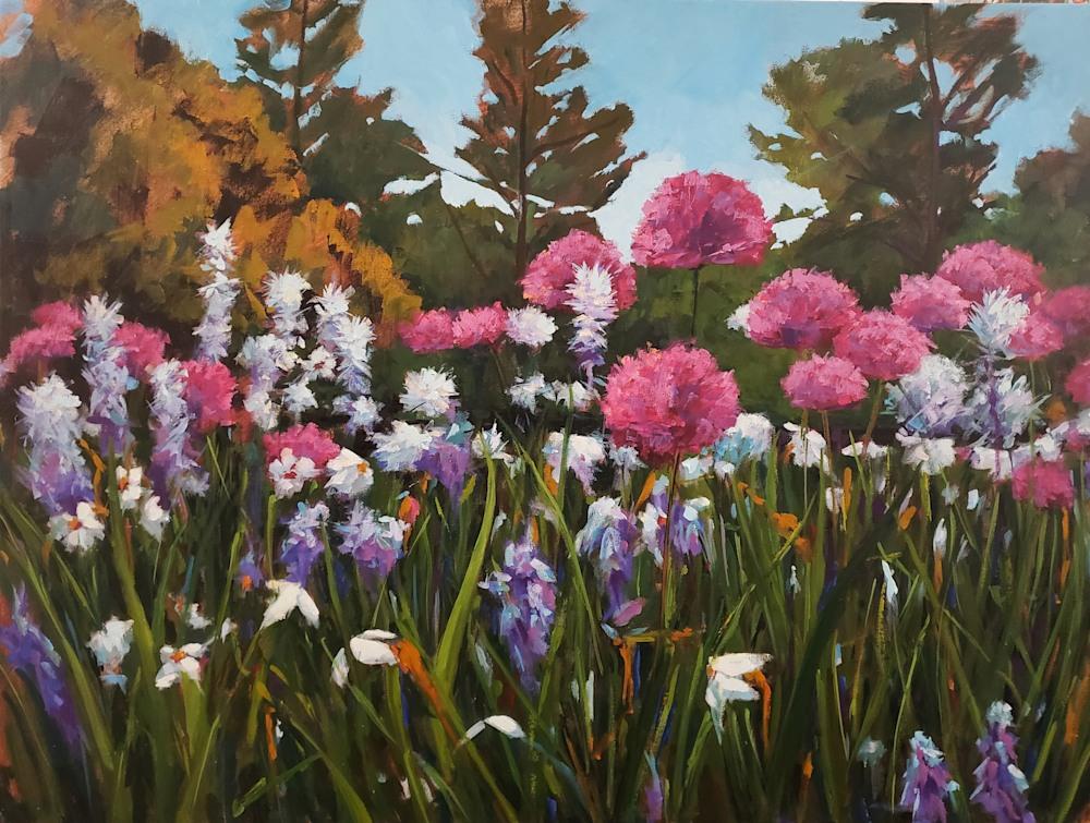 JennHallgren LongwoodGardens Allium 30x40