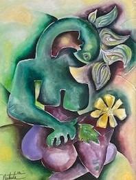 2   Woman With Flowers 2 3 tw5gjm