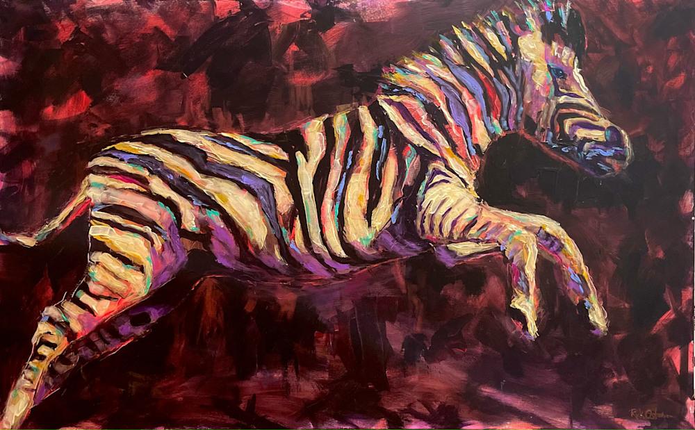zebra leap of faith
