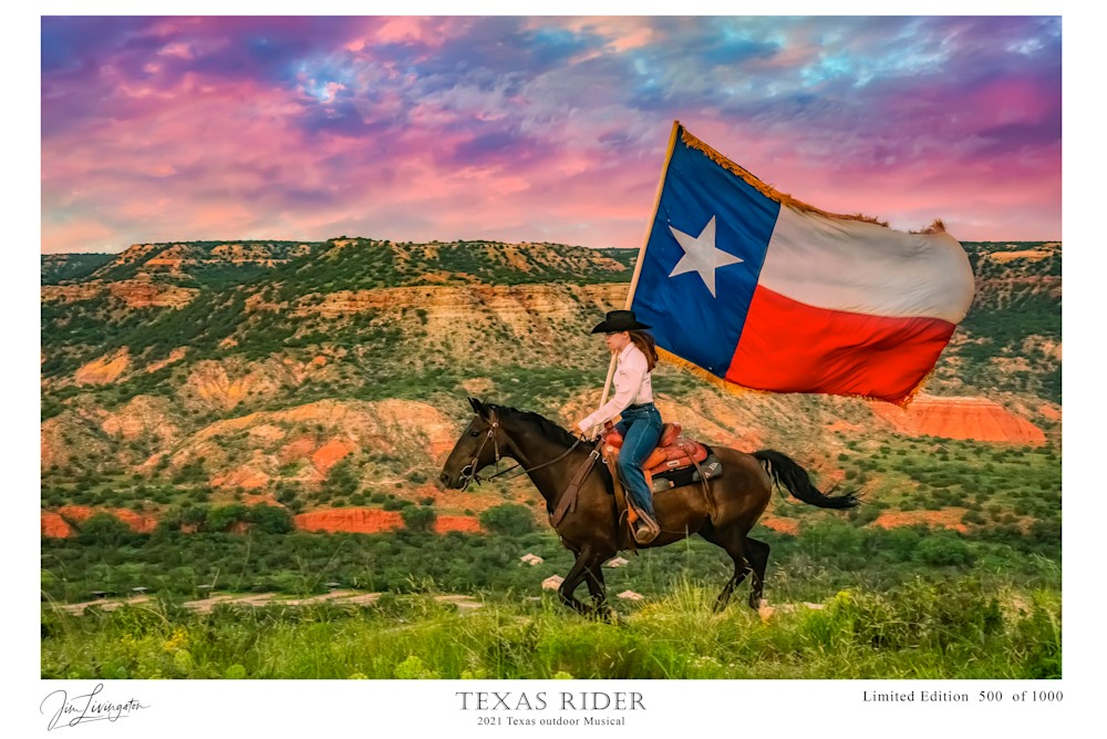 Texas Rider Limited Edition signed