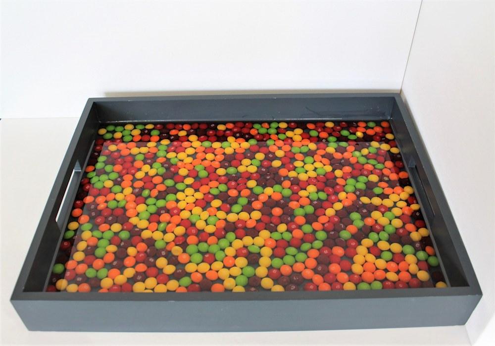 Skittles Tray flat view