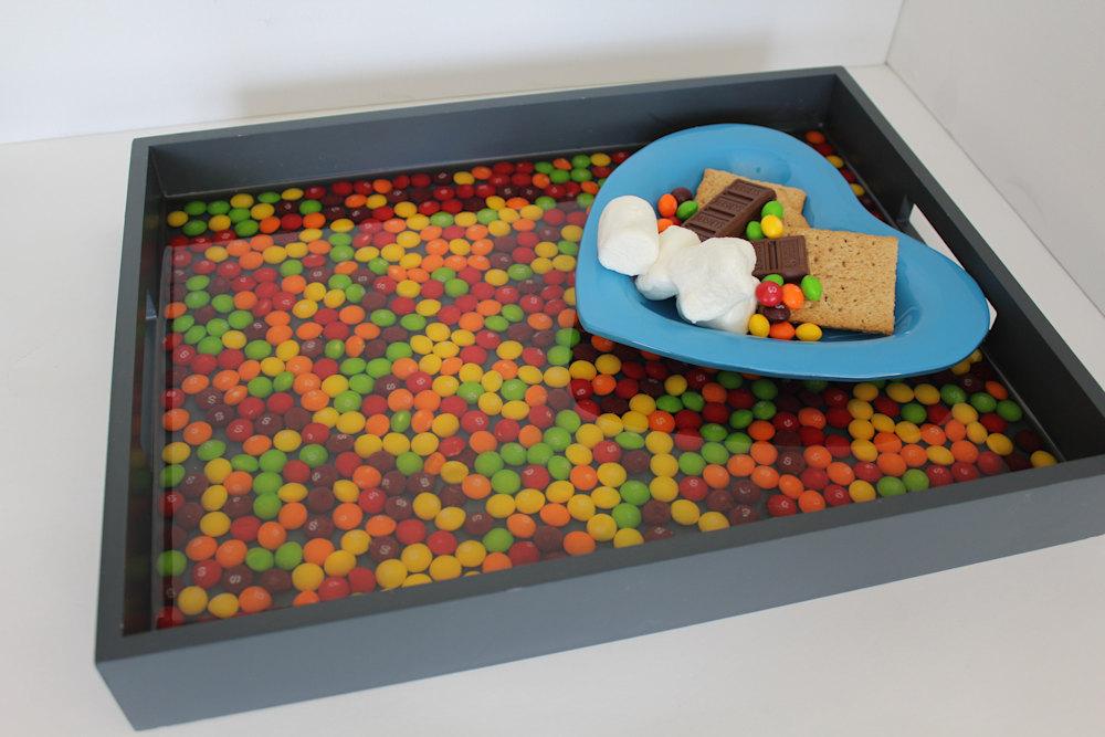 Skittles Tray