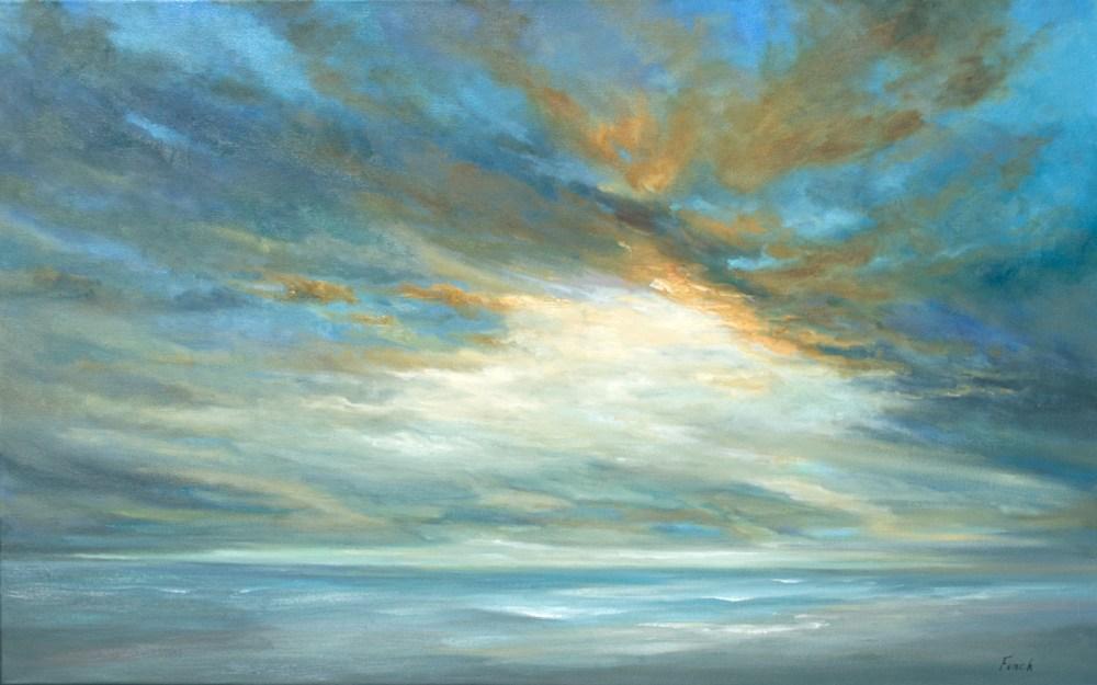 4611 Coastal Light Song 30x48 oil