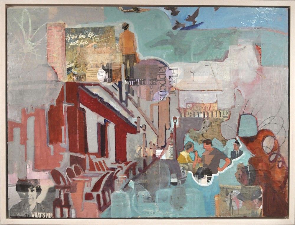 Dream of Yearning, framed, 36x48