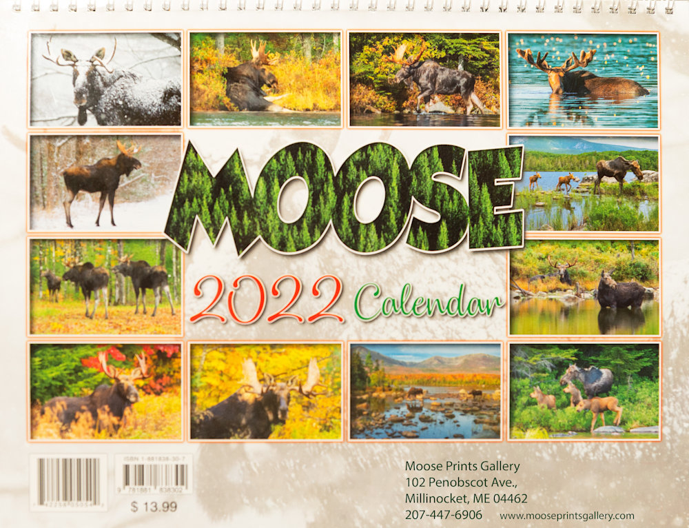 2022 MOOSE CAL BACK COVER