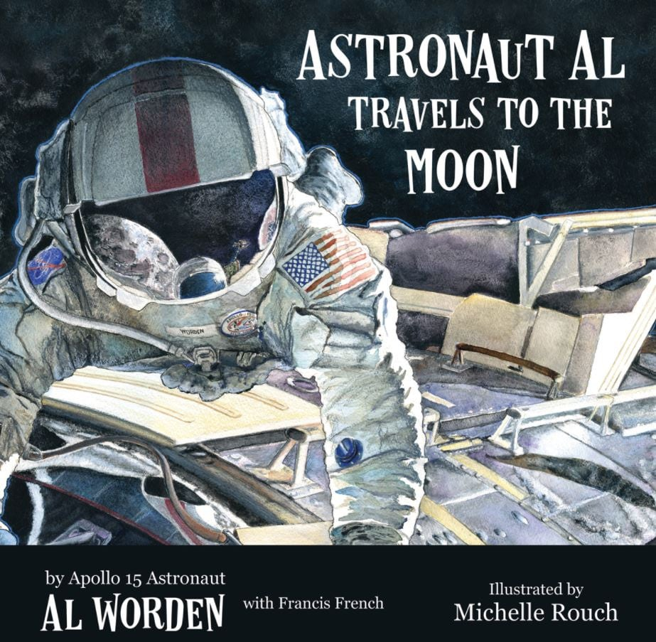 BOOK Astronaut Al Travels to the Moon 9x9