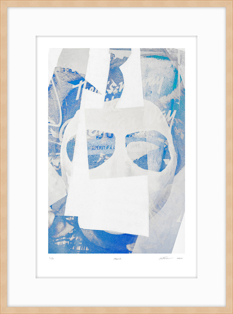 (Limited Edition) Mask2 blond on white