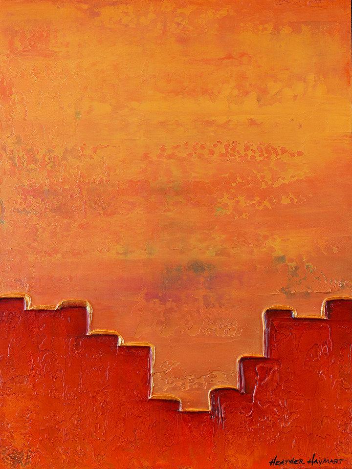 Rainbow Series Orange 6 by Heather Haymart sm