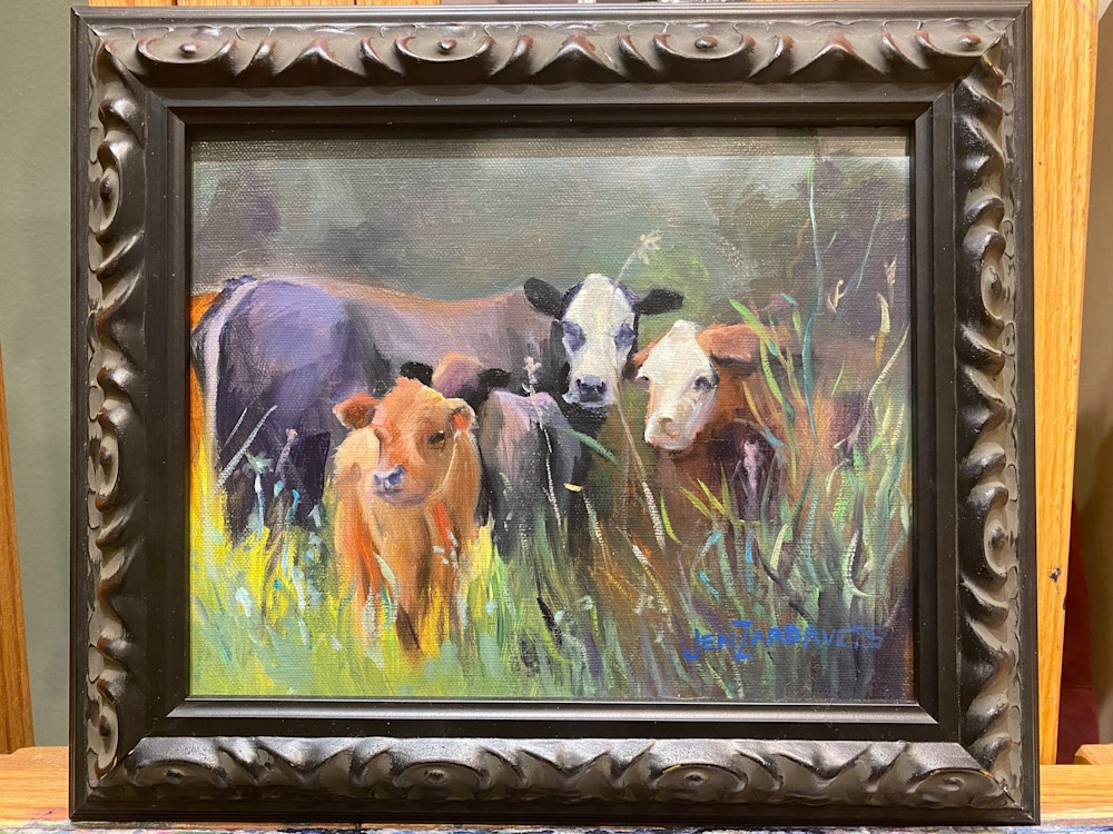 out to pasture frame