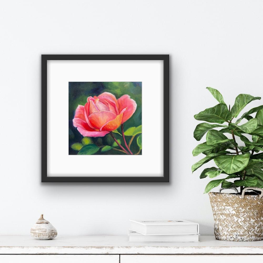 Pink Peace Rose artrooms
