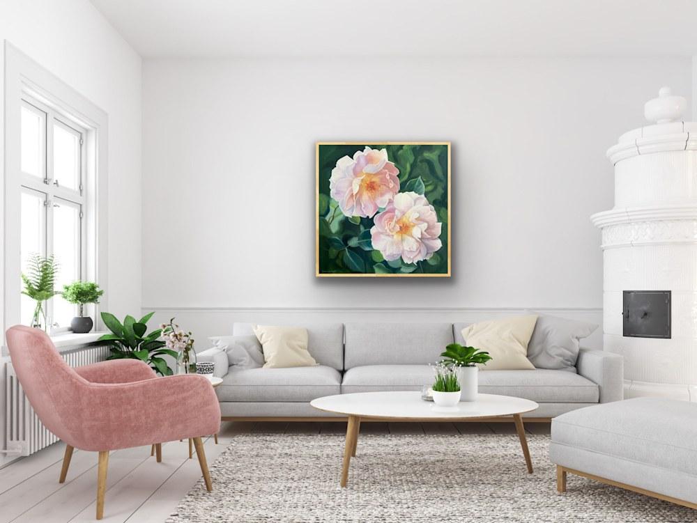 Pink Drift Roses artrooms