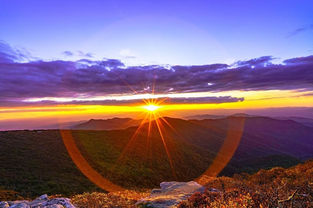 Brian McClean Craggy Pinnacle Sunset