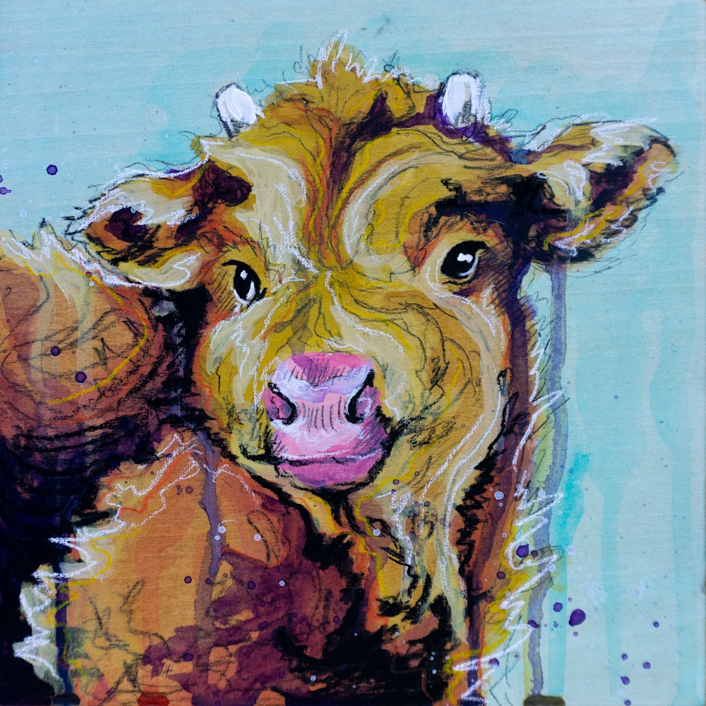 Baby Coo Painting FINAL original