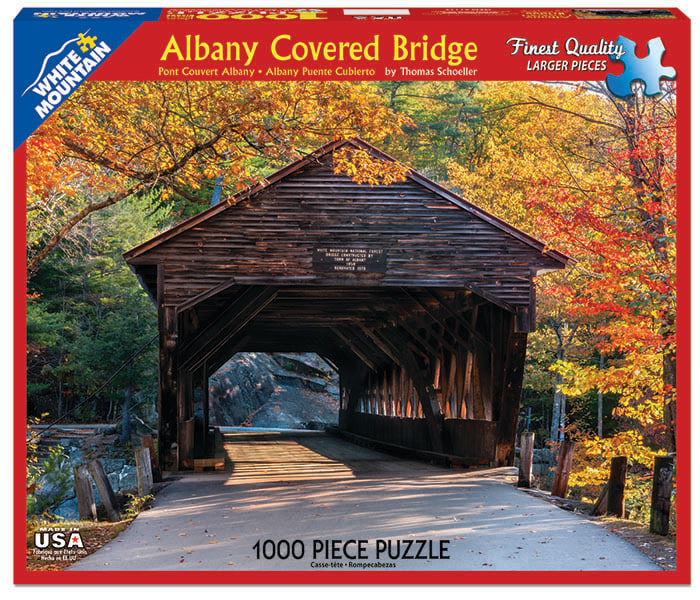 artist Thomas Schoeller photos used for White Mountain Puzzles, Inc jigsaw puzzles