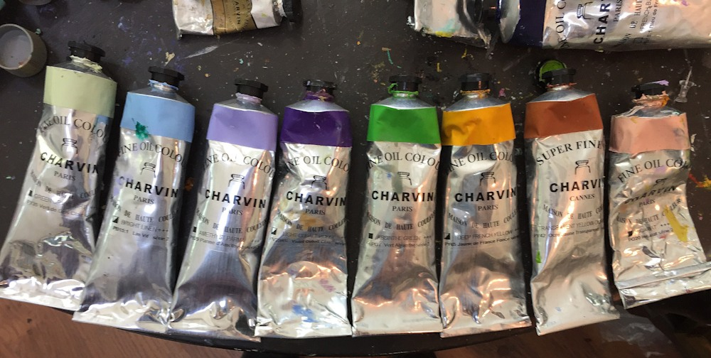 Charvin Artists Oil Colors