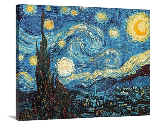 Free 11 X 14 Van Gogh Canvas