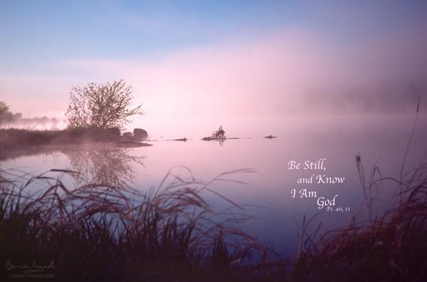 Be Still ... Dawn on the Chippewa River