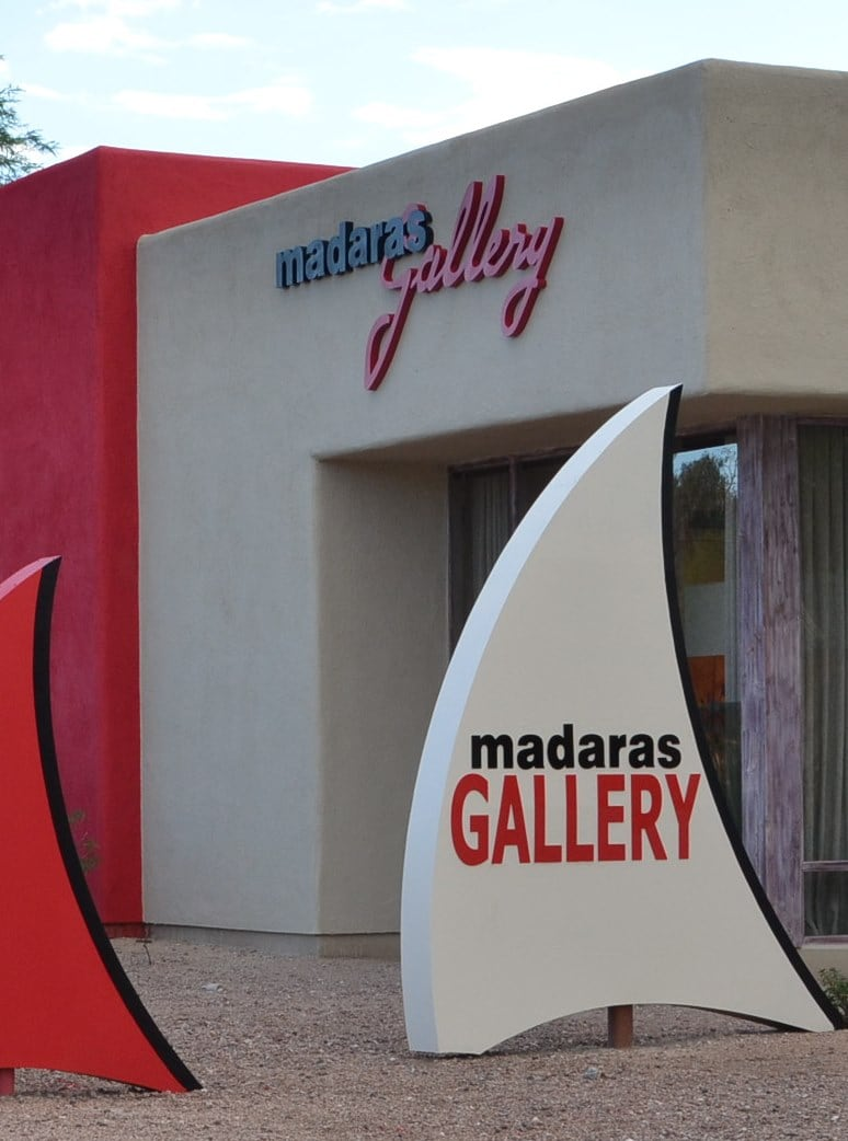 Greece Art | Madaras | Bougainvillea by the Sea | Tucson Art Gallery