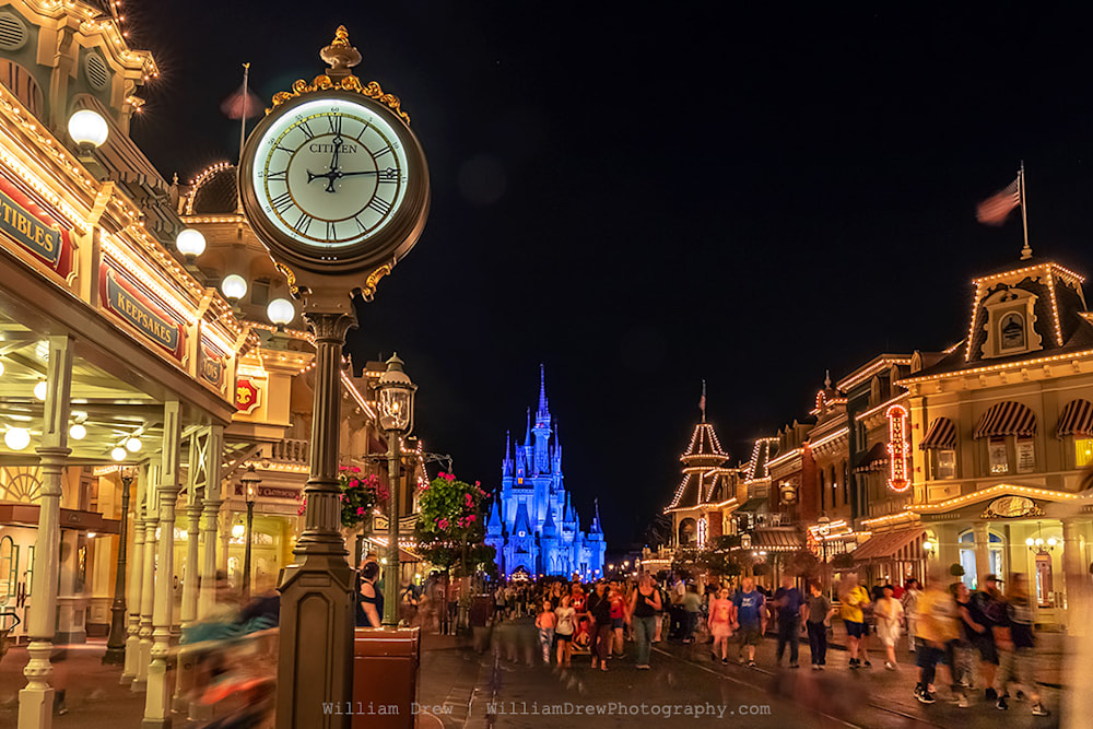 Disney After Midnight - Large Disney Wall Art | William Drew Photography