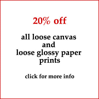 20% discount on prints