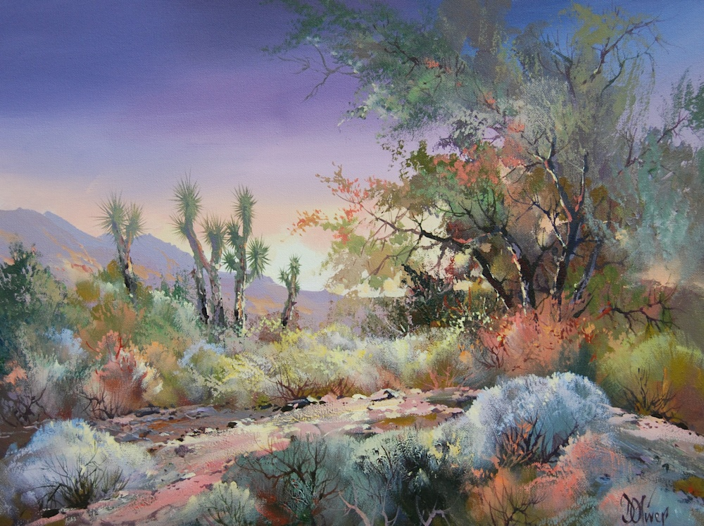 Back Country Sundown | Southwest Art Gallery Tucson