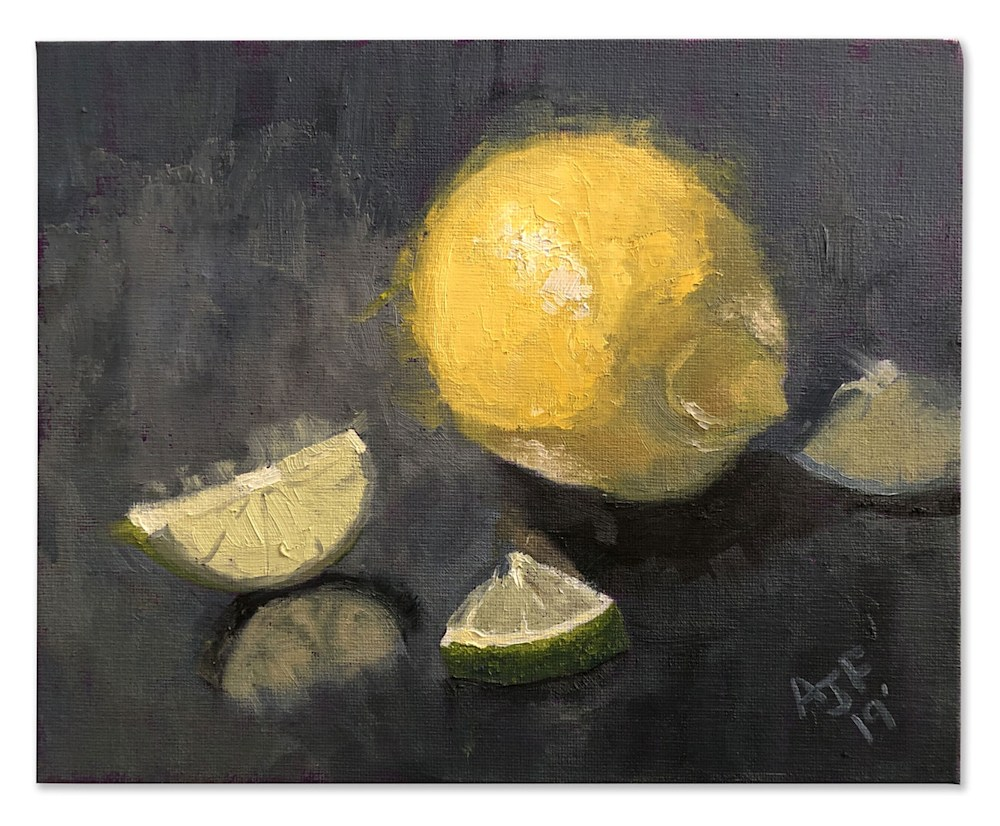 Abbey Fitzgerald Lemon and Lime Study