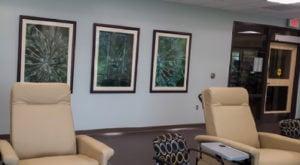 McCune Brooks Mercy Hospital Infusion Center Art by Koral Goatsbeard