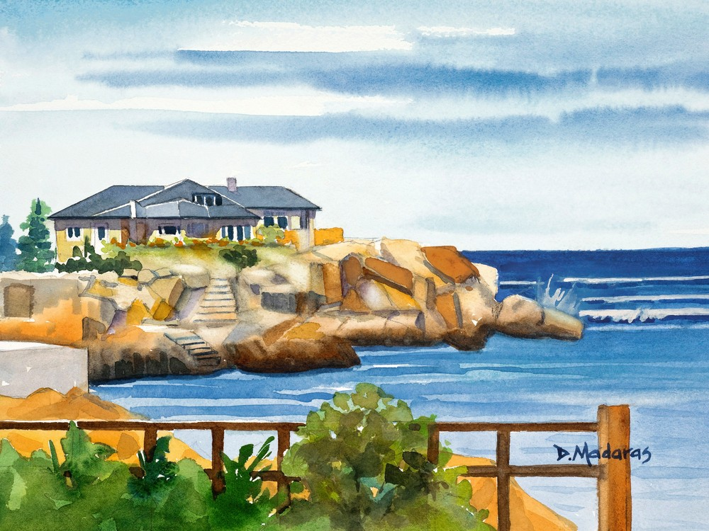 Rockport House | Southwest Art Gallery Tucson| Diana Madaras
