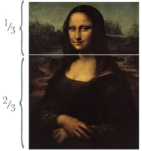 Leonardo in thirds