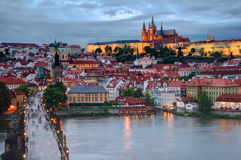 The Twilight Castle by John Lechner Prague Czech Republic