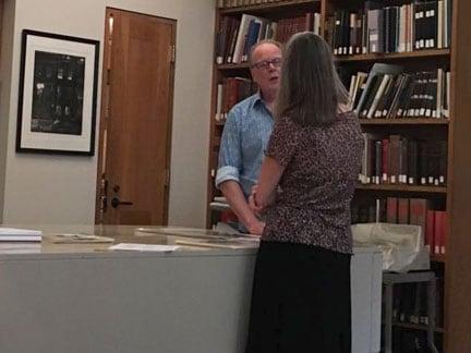 William Hays at the Boston Athenaeum
