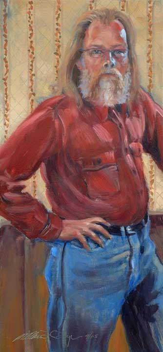 Self Portrait, September 2005 by William H. Hays