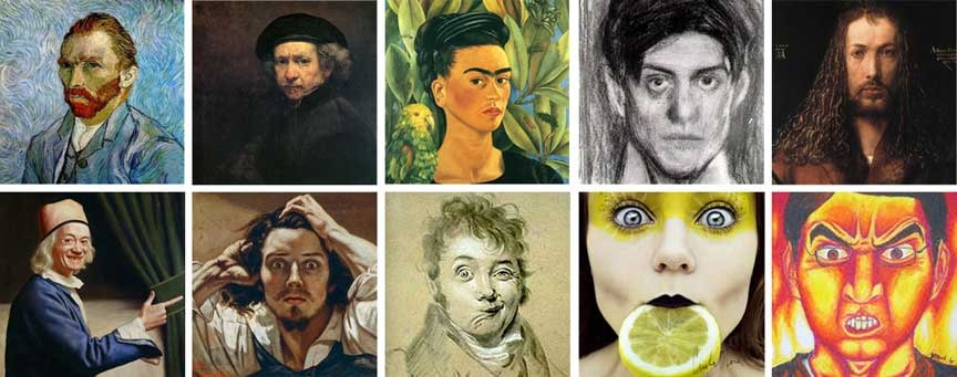 Artists self portraits