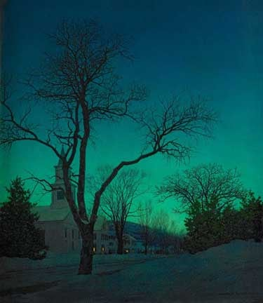 Maxfield Parrish, At Evenings End