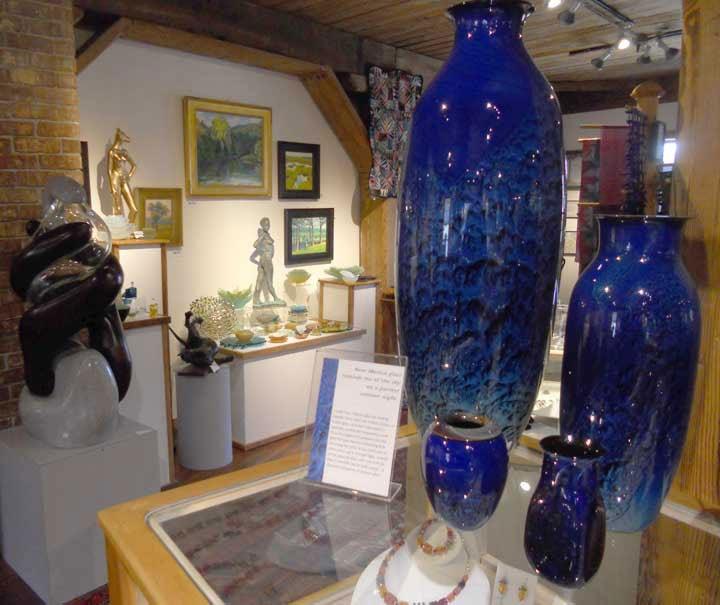 Salmon Falls Art Gallery, Shelburne Falls, MA